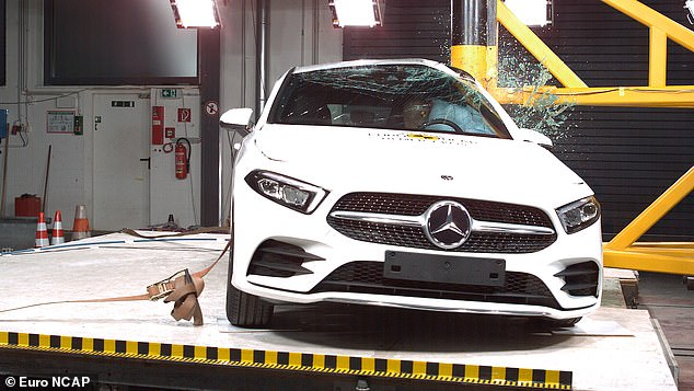 The new Mercedes-Benz A-Class has an active, deployable bonnet that rises in a collision to protect pedestrians and cyclists from the harshest areas of the vehicle