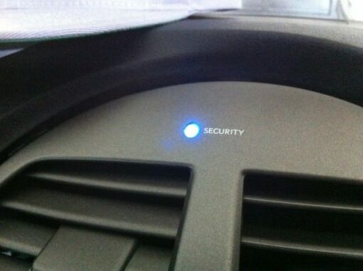 Security Light On Dash