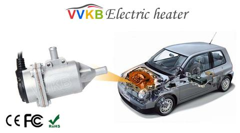 Electric engine heater